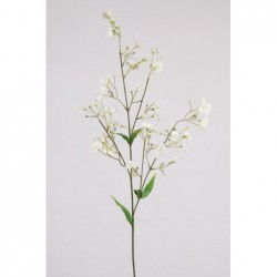 FLOR DE LINO ARTIFICIAL 70 CM - BLANCO